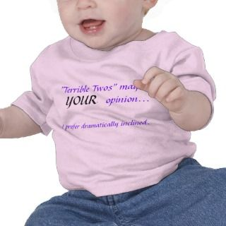 Terrible Twos (girl) Tshirts