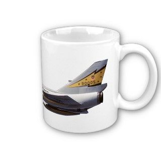 106 Delta Dart Fighter Aircraft Coffee Mug