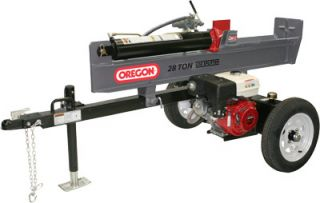 New Oregon S40208K0 28 Ton Honda Engine GX270 Log Splitter