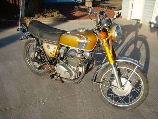 Honda CB350 Motorcycle for Parts or Repair No Title Parts Bike