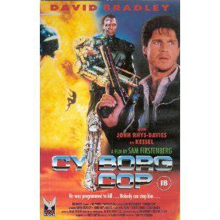 Cyborg Cop [VHS] David Bradley, John Rhys Davies, Todd