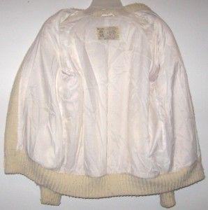 Hilda Vtg Icelandic Wool Sweater Jacket Womens M