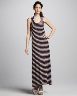 Juicy Couture Striped Jersey Dress