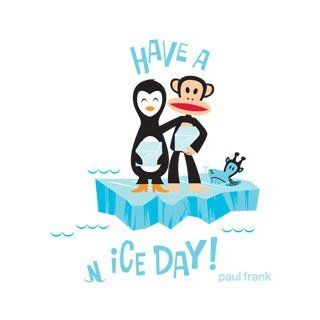 Paul Frank Julius North Pole with Penguin on Ice Wall