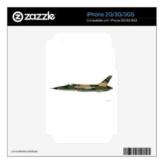 Republic F 105 Thunderchief Skins For The iPhone 2G