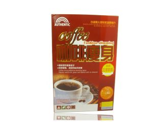 Slimming Coffee Boxes Original 100% Authentic pure Diet slim bag 10 g