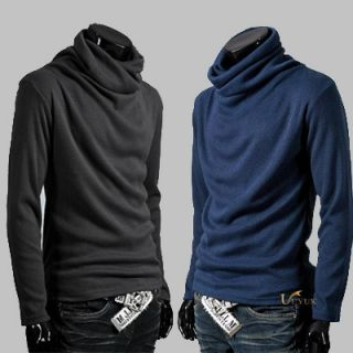 High Quality Mens Rotary Heap Collar Knitting Sweater Size M L XL 6