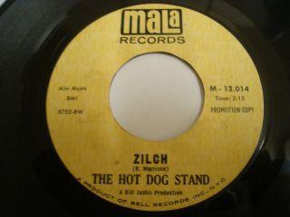 Hot Dog Stand Zilch 7 Mala RARE Garage Surf Psych Hear