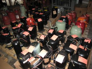 Central Air and Heat AC Compressors Trane Copeland Bristol Geothermal
