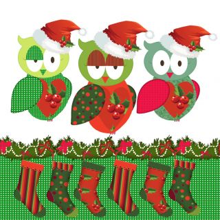 Owls Grosgrain Ribbon Pink Red Lime Hoot Hoot 7 8 BTY
