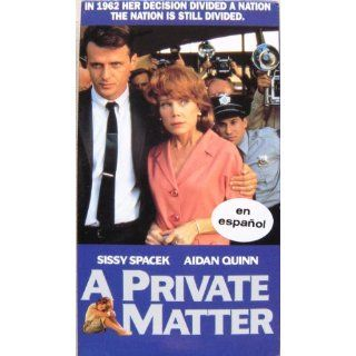 A Private Matter [SPANISH VERSION] en espanol [VHS]: Sissy