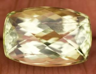 ViPSCOLLECTION 17 4ct High Quality Hiddenite Top Luster