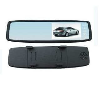 Security 4 3 inch TFT LCD Car Rear View Mirror Monitor 16 9 Display