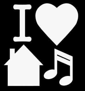 Love House Music T Shirt Techno Rave Dance