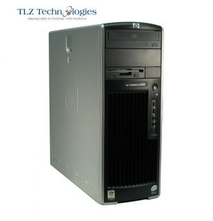 HIGH PERFORMANCE   HP XW4400 WORKSTATION CORE 2 DUO 1.86GHz 2GB DVD XP