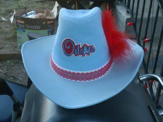 Houston Oilers NFL cowboy hat