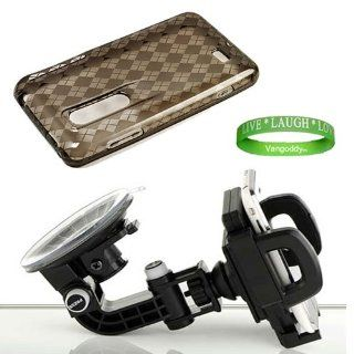 Ultra Durable Compact Car Mount Kit Black Compatible Car Mount for LG