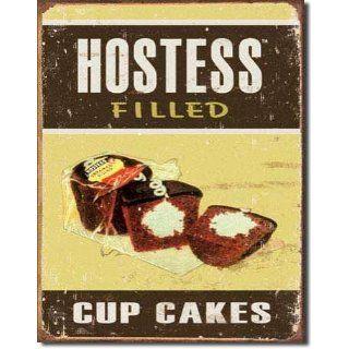 Hostess   Filled Cupcakes Metal Tin Sign 12.5W x 16H
