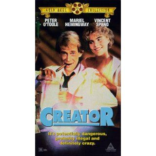 Creator [VHS]: Peter OToole, Mariel Hemingway, Vincent
