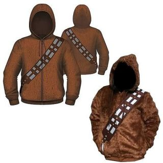 Star Wars Chewbacca I Am Chewie Zip Up Hoodie Pre Sell