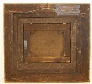 1876 GENRE LANDSCAPE PAINTING BY AC HOWLAND BARBIZON SCHOOL