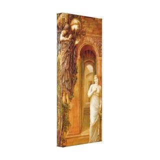The Annunciation ~ Edward Burne Jones Gallery Wrap Canvas