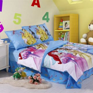 Sale 100% Cotton Snow White Disney Princess Kids Bedding Set for Girls