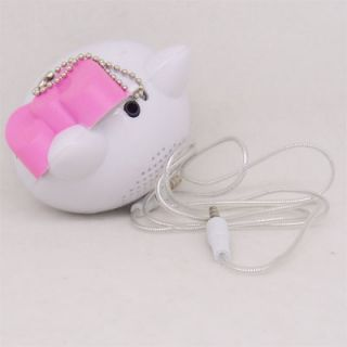 Portable Hello Kitty Speaker for PC,CD,,DVD player