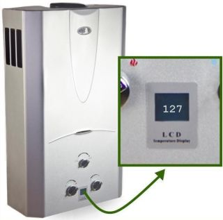 Natural Gas Tankless Hot Water Heater Whole House 4 3 GPM DIGITAL TEMP