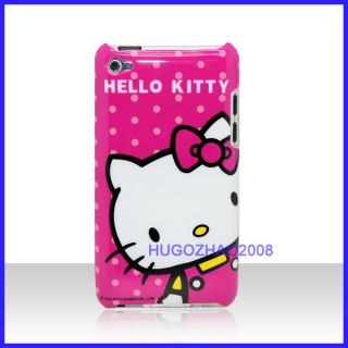 HELLO KITTY HARD BACK COVER SKIN CASE FOR ITOUCH IPOD TOUCH 4 Gen 4G