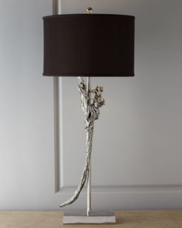 H6KW5 John Richard Collection Salvaged Wood Table Lamp