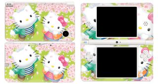 Nintendo Dsi XL Console Protector Vinyl Skin Sticker Hello Kitty