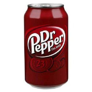 Dr. Pepper, 12 Ounce Cans (Pack of 24): Grocery & Gourmet