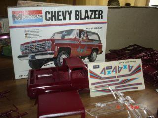 Monogram Chevy Blazer