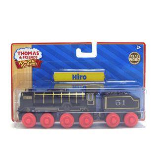 Hiro w Tender Thomas The Tank Engine Wooden Railway Friends Train NIP