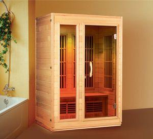Saunagen 2 Person Infrared Sauna w Carbon Fiber Heater