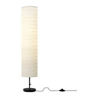 IKEA Floor Lamp Holmö Rice Paper Shade Soft Mood Light