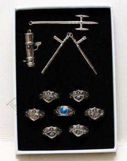Hitman Reborn Katekyo Vongola Rings Necklace Chain
