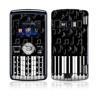 I Love Piano Decorative Skin Cover Decal Sticker for LG