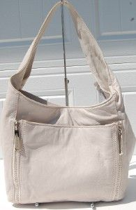 Michael Kors Crosby Large Hobo Shoulder Bag Vanilla Off White $348