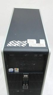 HP DC5700 Desktop PC Intel Core 2 Duo 1 86GHz 2GB 80GB Hard Drive