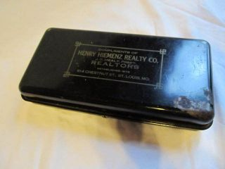 Real Estate Advertising Safe Box Henry Hiemenz Realty Co St Louis MO