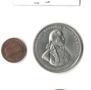 1973 HENRY LEE REVOLUTIONARY WAR MEDAL US MINT COMMEMORATIVE COIN