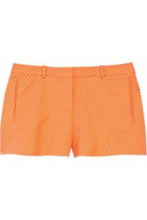 Versace Polka dot stretch cotton micro shorts