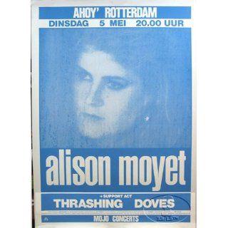 ALLISON MOYET 1987 EUROPE TOUR CONCERT POSTER Everything