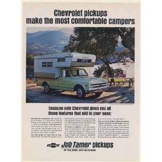 1968 Chevy 3/4 Ton Custom Camper Fleetside Pickup Truck
