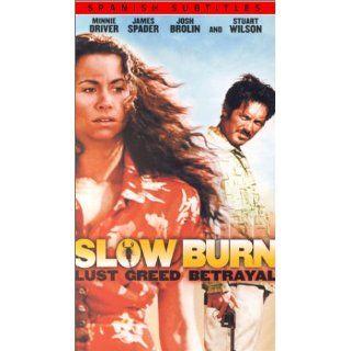 Slow Burn [VHS]: Jennifer Ann Evans, Stuart Wilson, Nicole