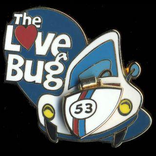 Disney DLR cm Cast Member Exclusive Herbie Love Bug 53 Pin
