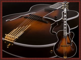 Heritage Guitar Golden Eagle L 5CES Archtop New