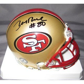 Jerry Rice San Francisco 49ers NFL Hand Signed Mini